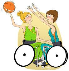 basket ball en fauteuil roulant