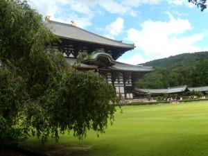 vu extérieur du temple de Nara