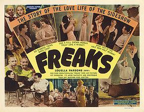 """Le handicao au cinéma dans les années 30:  """"Freaks"""""""