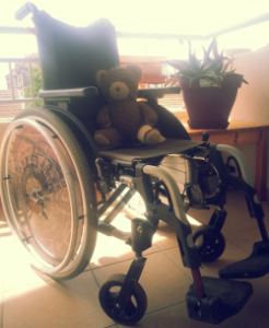 Mon premier fauteuil roulant