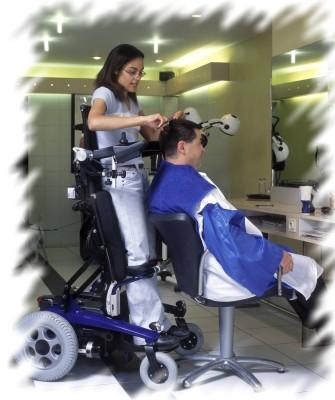 fauteuil verticalisateur et travail