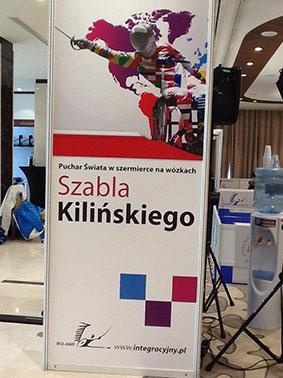Coupe du monde d'escrime handisport à Varsovie
