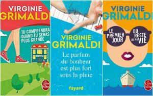 Les oeuvres de Virginie Grimaldi
