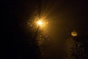 un soleil dans le brouillard