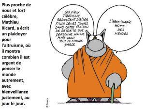 Le chat de Geluck qui parle de bienveillance