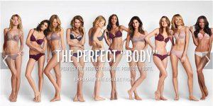 10 corps de femme portant juste des dessous féminin - campagne de pu de victoria's secret